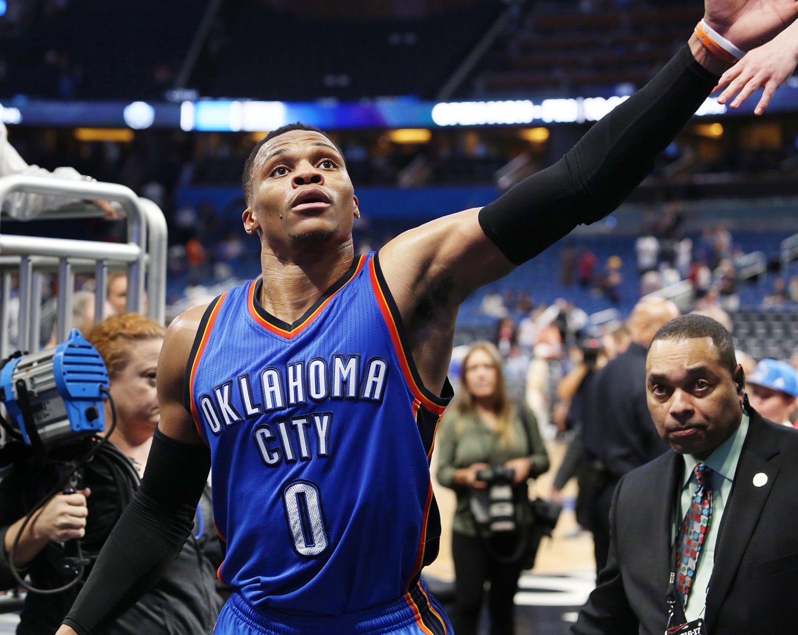 Russell Westbrook Debuts New Air Jordan 3 PE
