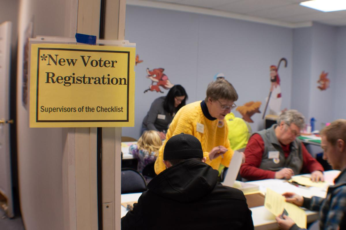 Registering new voters