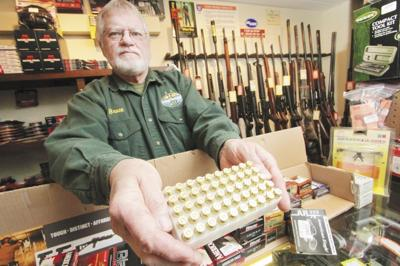 Local gun shops out of ammo