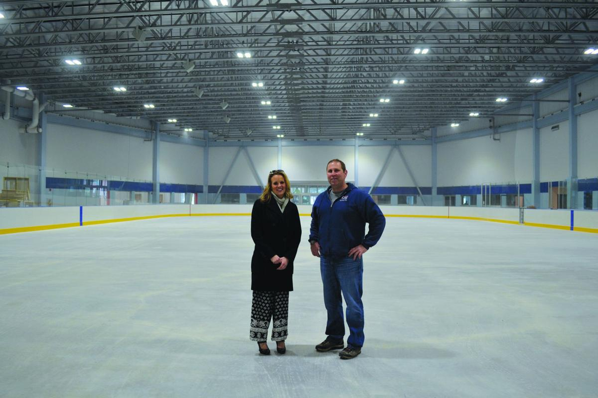 keene ice arena plans opening this month local news