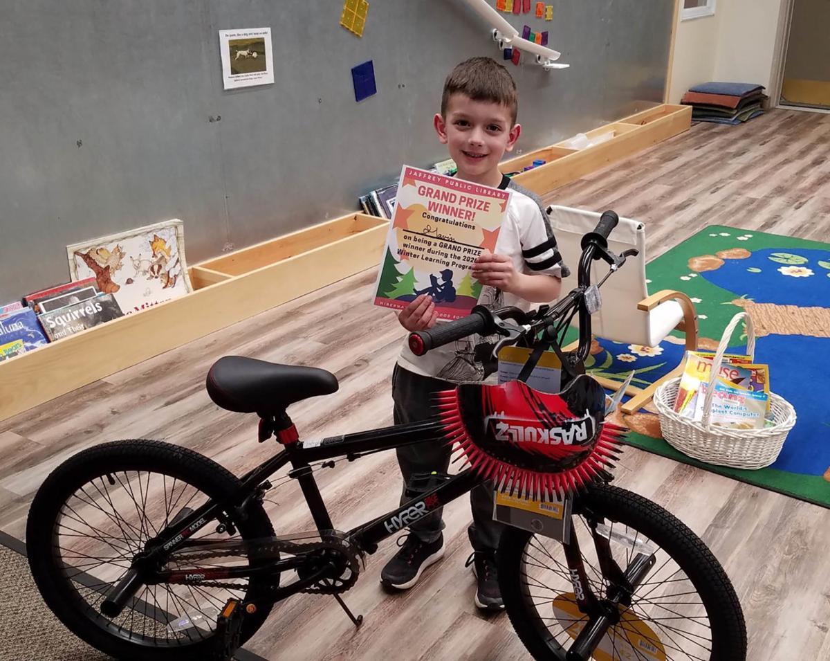 Bikes for books: LeBlanc