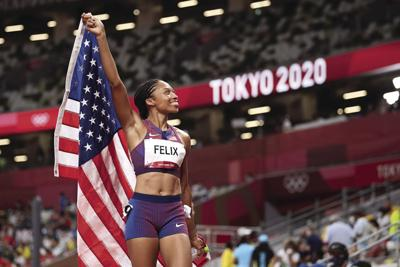 SPORTS-OLY-ATH-WOMEN-400M-GET