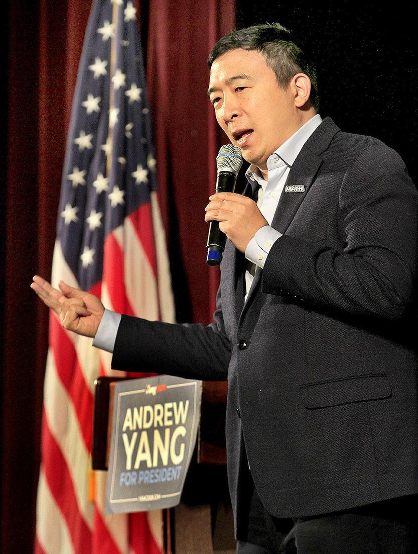 Andrew Yang in Peterborough