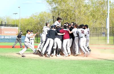 Ravens rally to win conference title