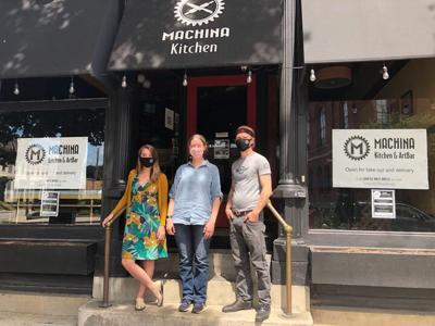 At Machina Kitchen & ArtBar