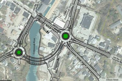 project would reconfigure crowded jaffrey intersection local news