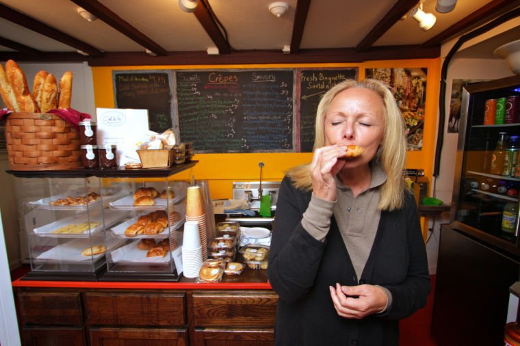 Davis taps into a country's heart through its food