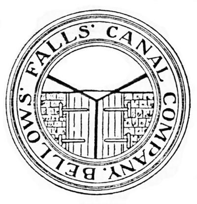 Seal of the Bellows Falls Canal Co.