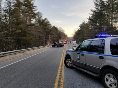 One person injured in crash on Route 9 in Stoddard Tuesday