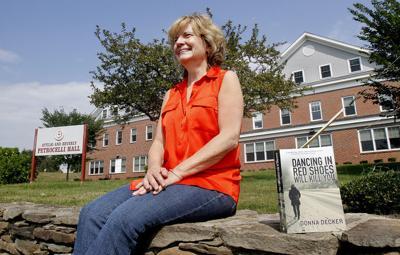 Author turns to teaching