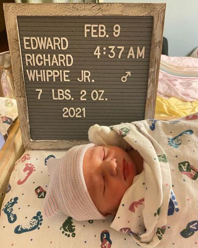 Birth: Edward Richard Whippie Jr.