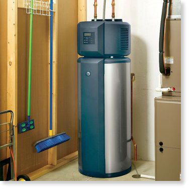 Efficient Water Heaters