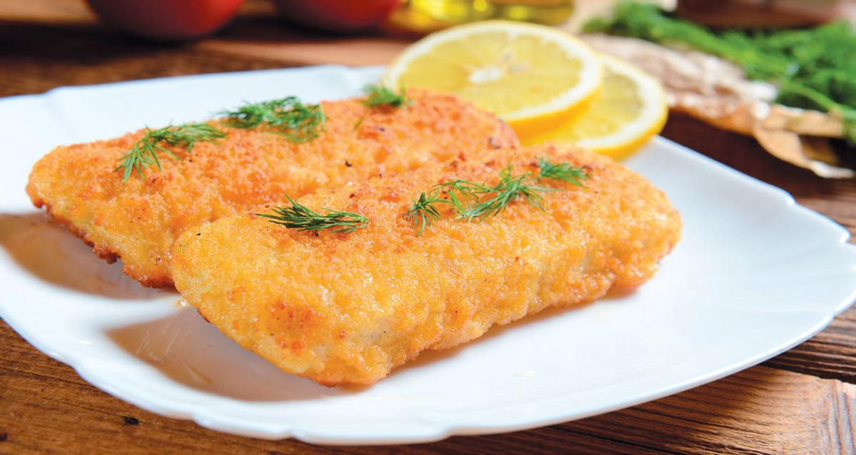 Tasty Fish fillets with cheese