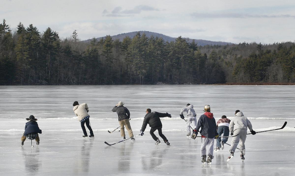 Pearly Pond hockey