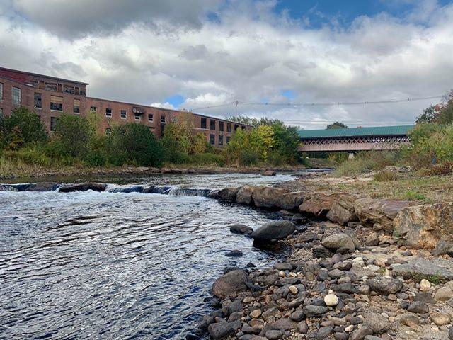 Bridge and mill