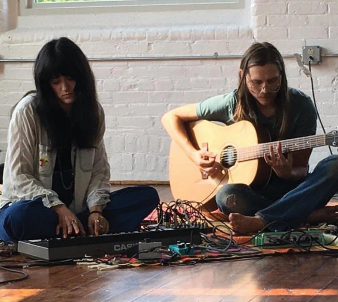 Cosmically-Inspired Show  Combines Music, Improv Art