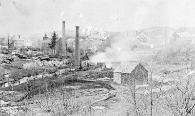 Troy after the Silsby Tannery fire