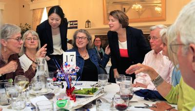 Klobuchar lays out platform at county Democrats' annual dinner