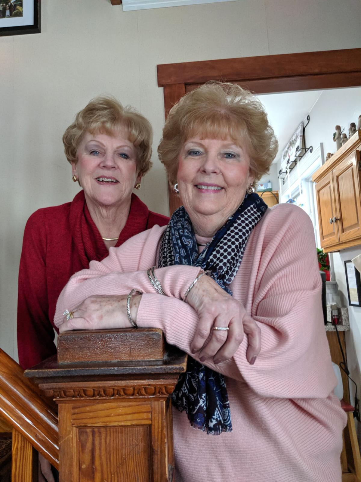 Carolyn Szoc and Marilee Tilton