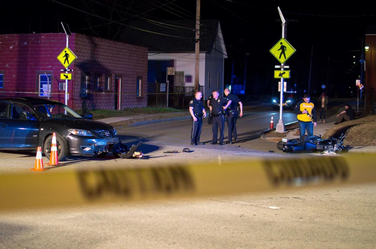 Police: Motorcyclist flown to Lebanon hospital after crash