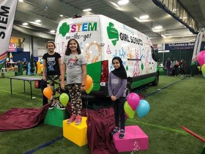 STEM On-the-Go Van Unveiled by Girl Scouts