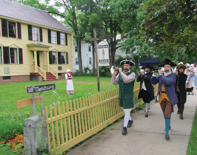 Travel Back in Time to the 18th Century