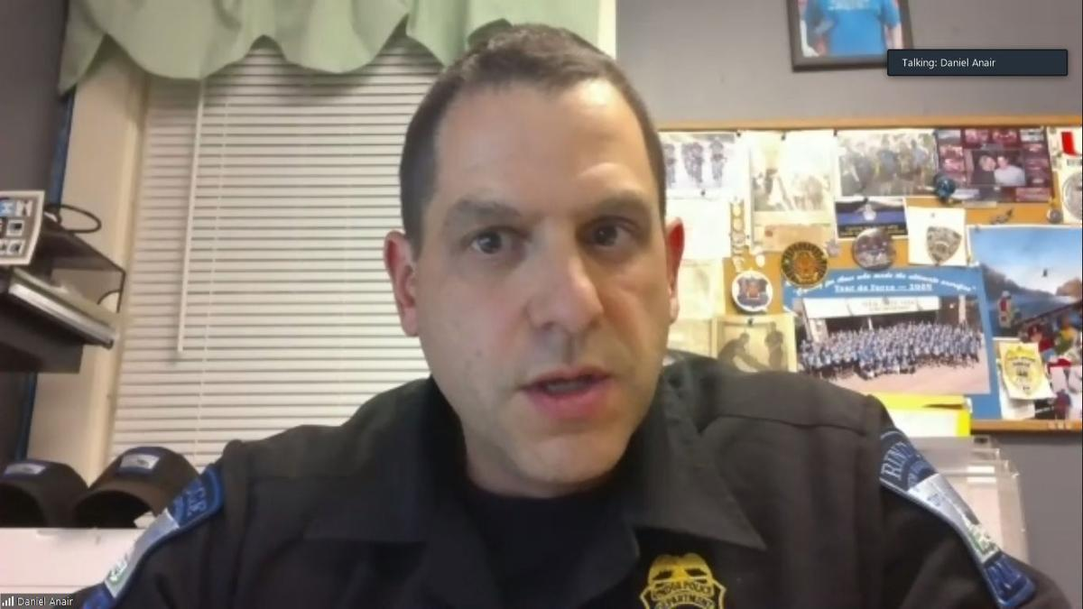 Rindge Police Chief Daniel Anair