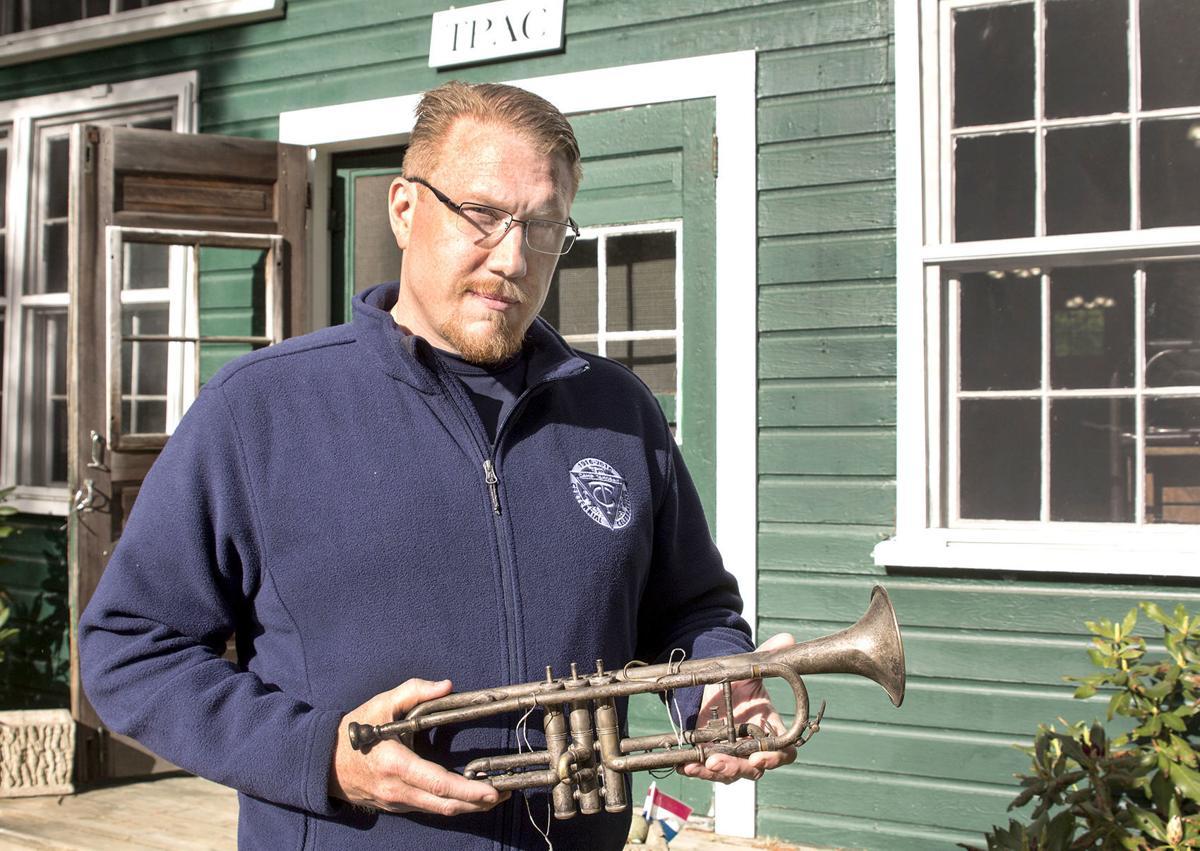 Beanie's trumpet