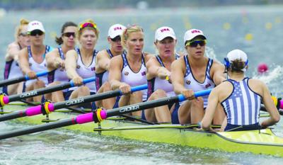Rowing to the final
