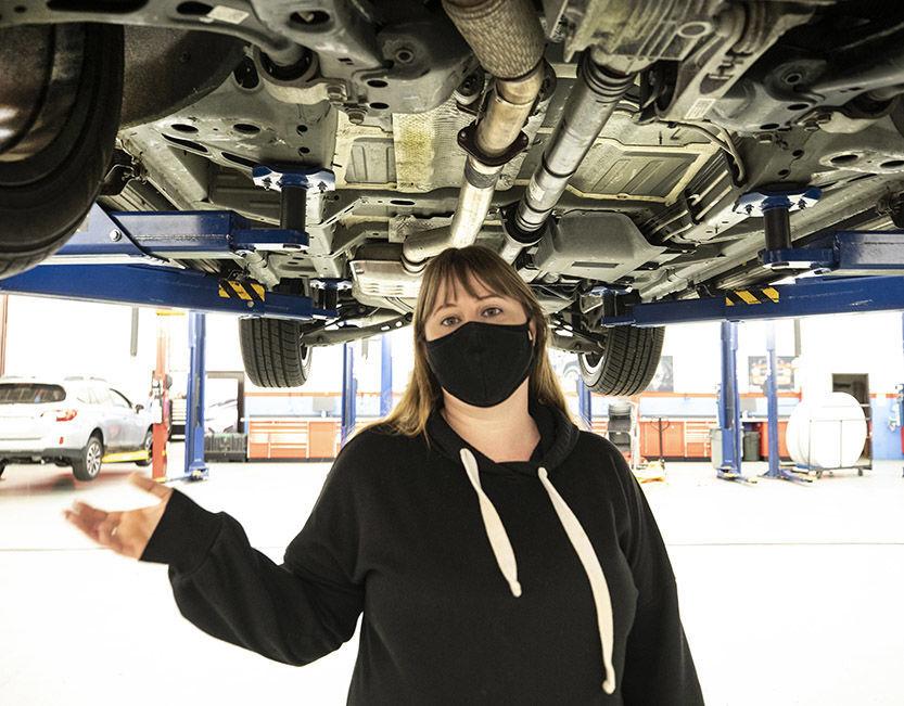 Automotive instructor
