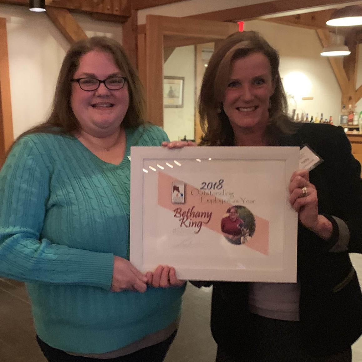 Monadnock Humane Society presents volunteer, employee awards