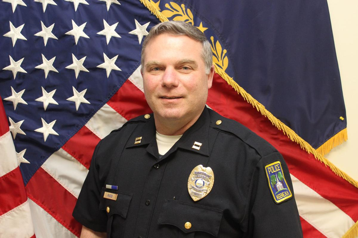 Keene Police Chief Steven Russo