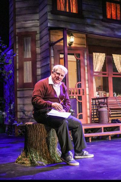 """Gordon Clapp in  """"Our Town"""" at Peterborough Players"""