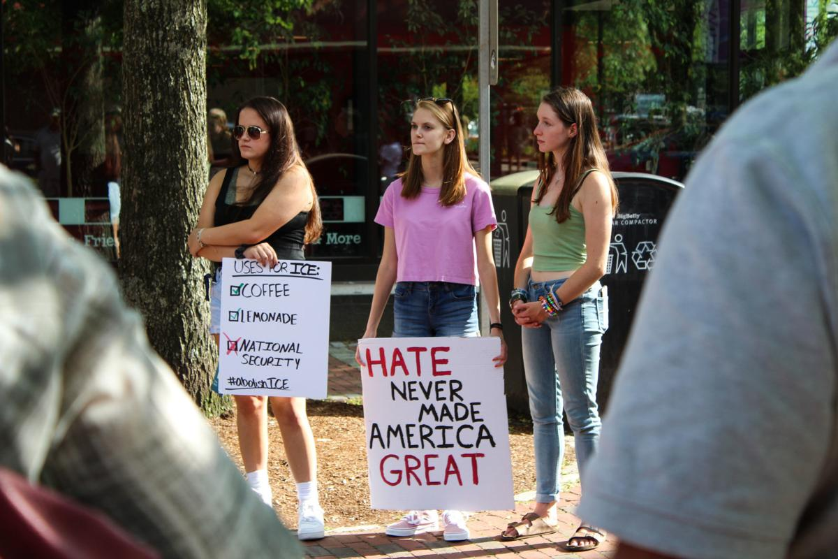 The 'Stand Up Against Hate' rally