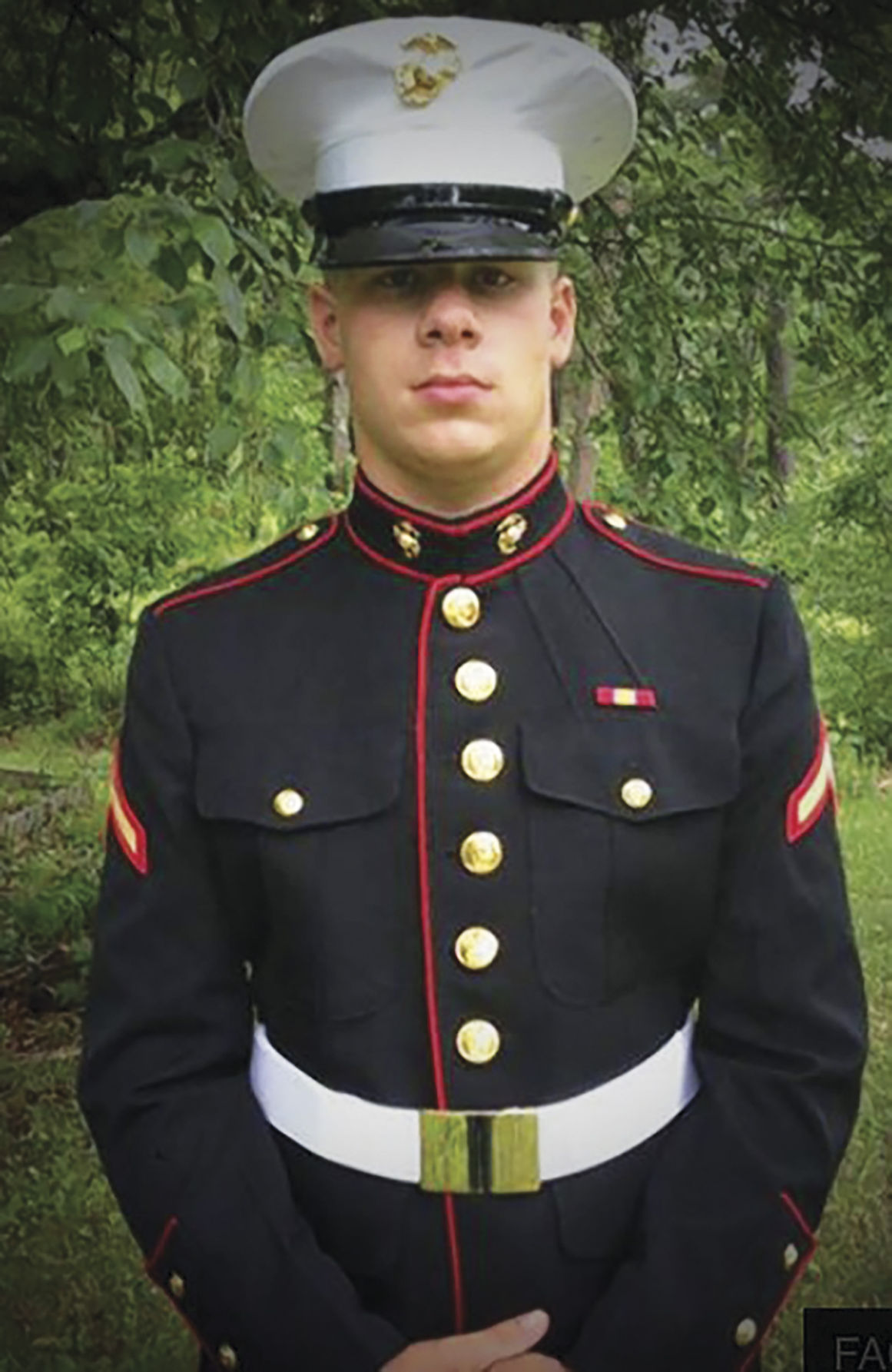 Marines Enlisted Uniform New state law named fo...
