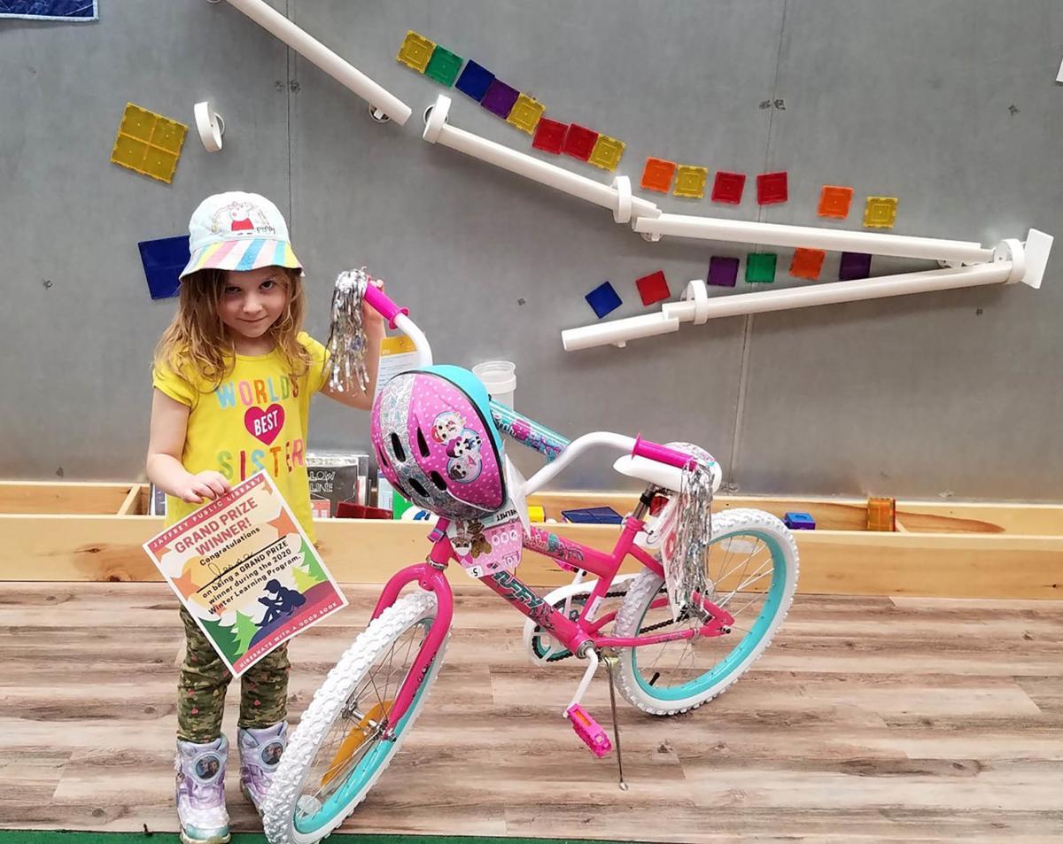 Bikes for books: Levesque