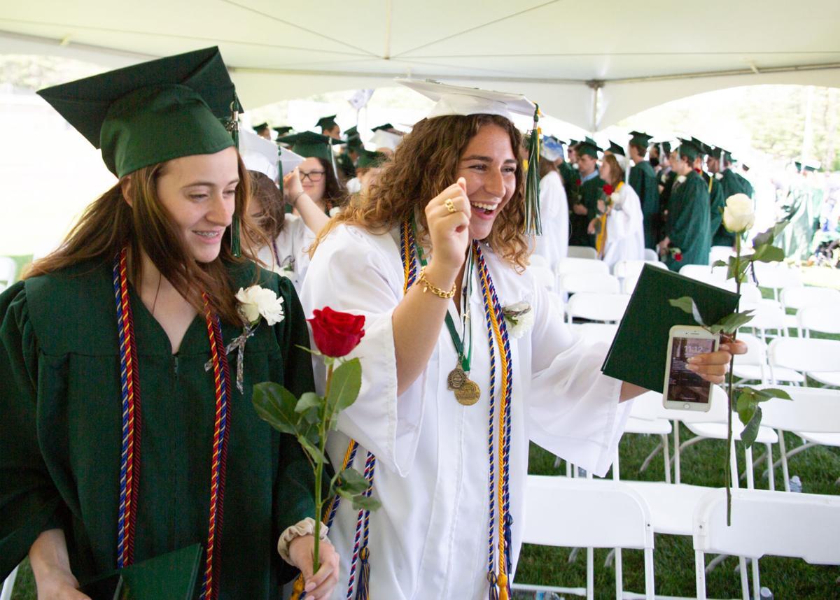 Scenes from Monadnock's graduation