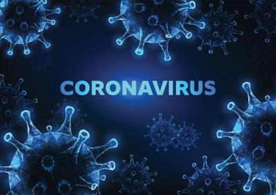 Blue Coronavirus