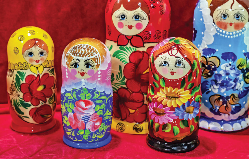 Russian Nesting Dolls: An Incomparable Tradition