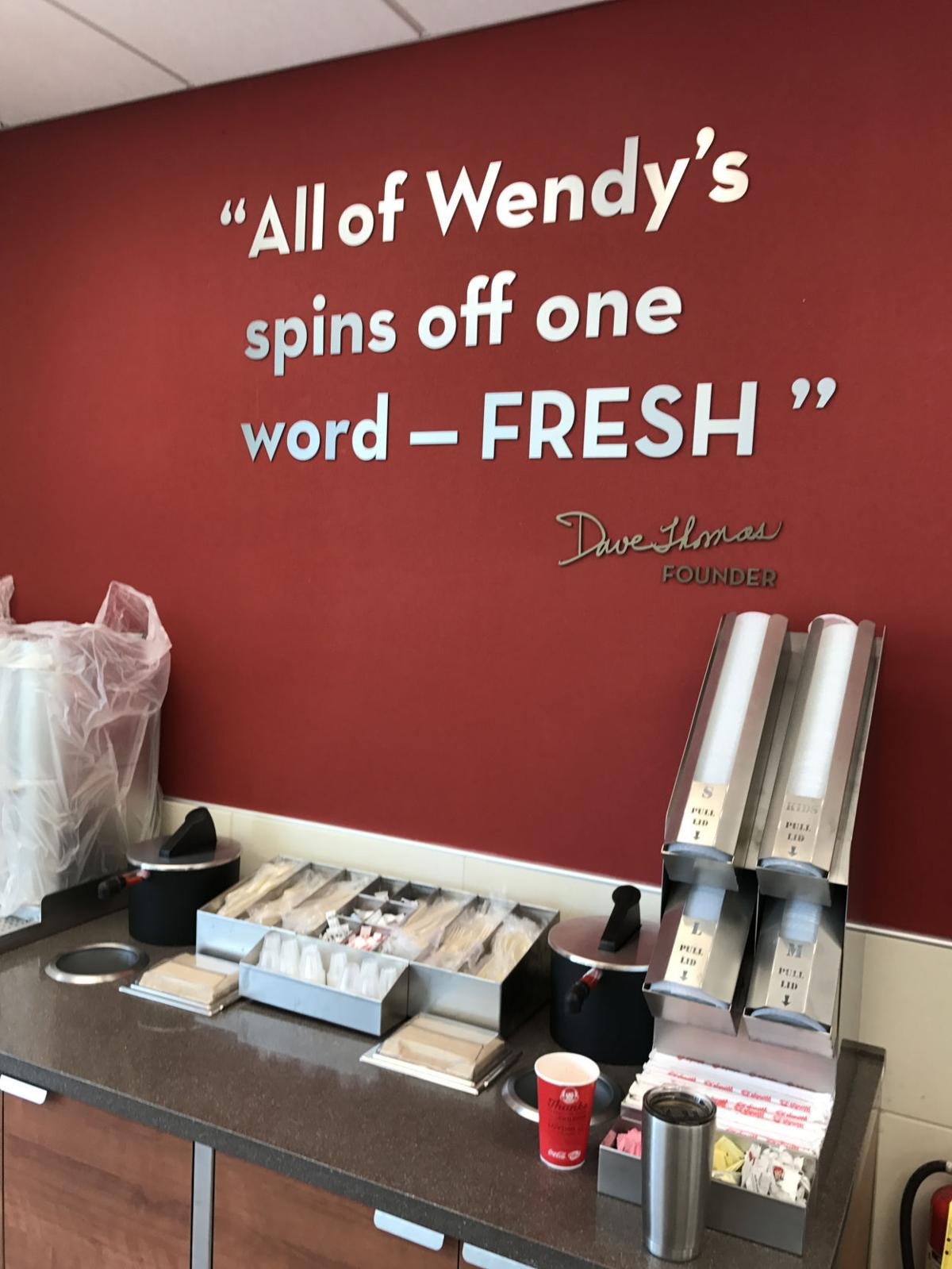 revamped wendy u0027s reopens in keene local news sentinelsource com