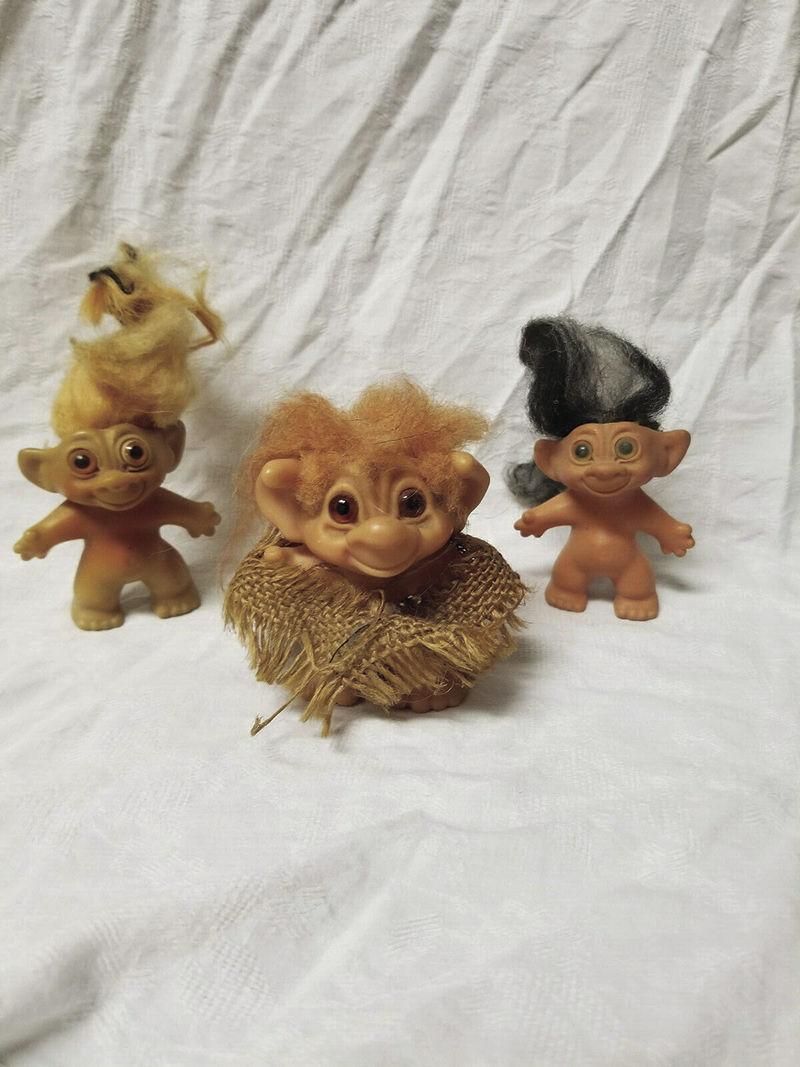 Original 1960s Dam Trolls