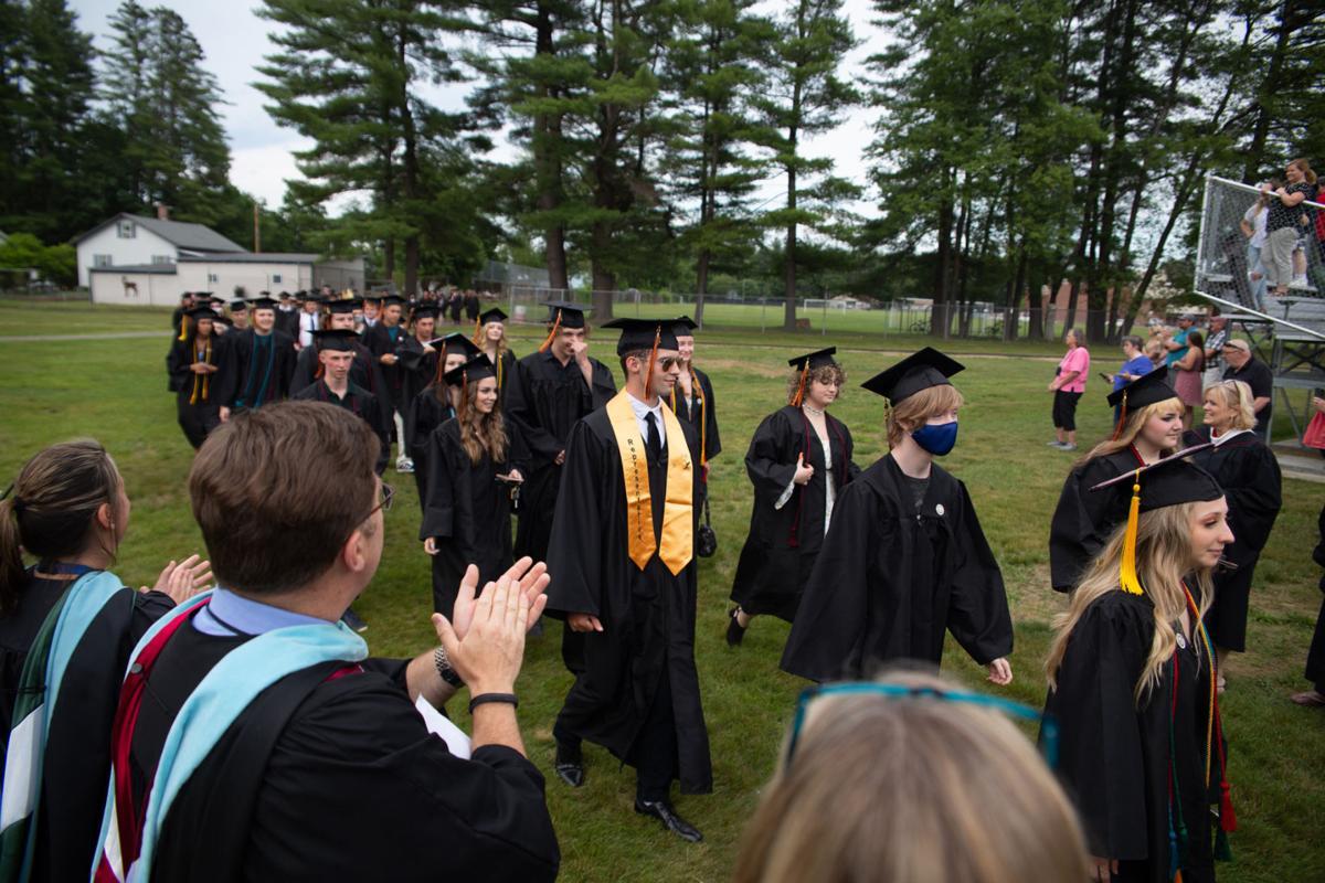 Photos from Keene High's graduation