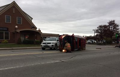 West Street crash
