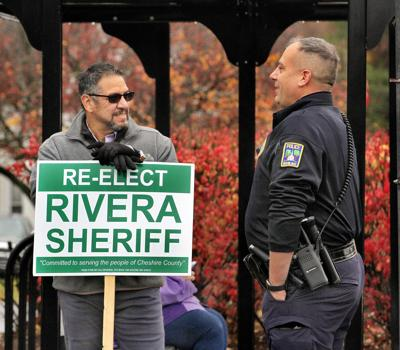 Campaigning for sheriff