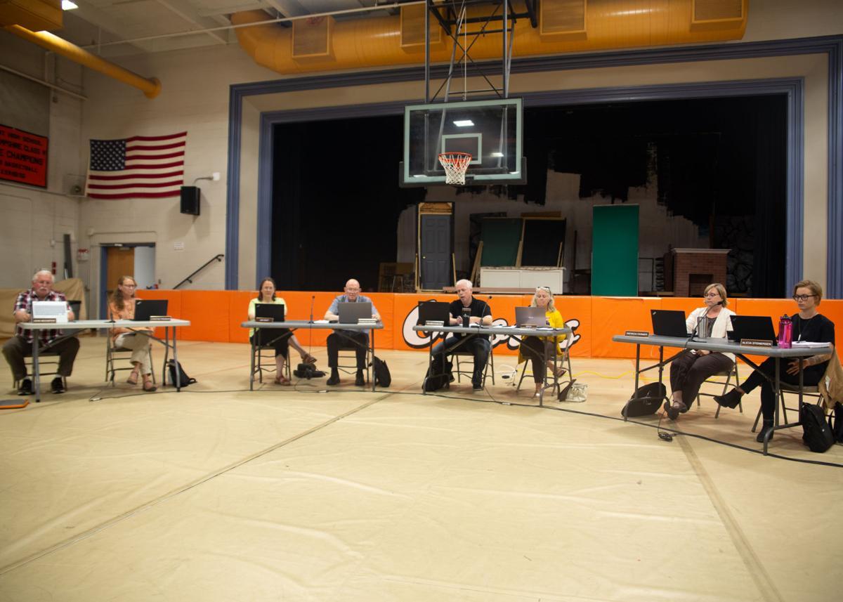 Jaffrey-Rindge School Board meeting