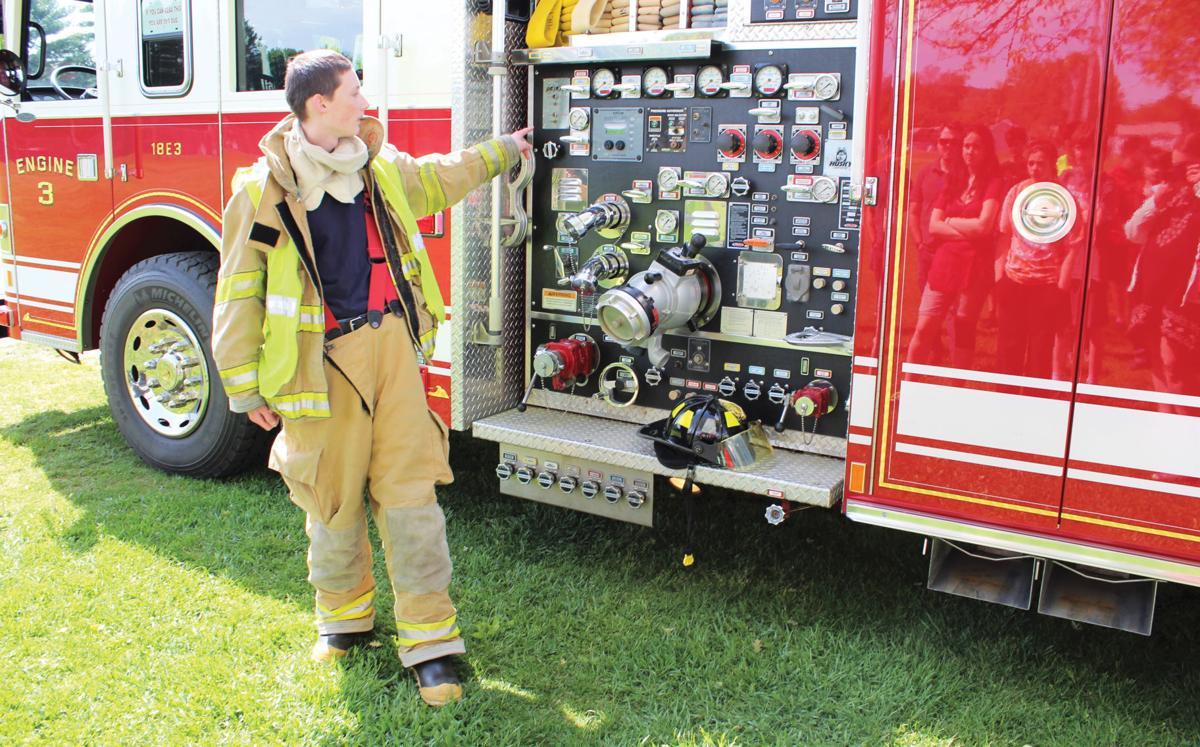 Aspiring firefighter