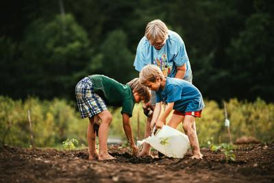 The Seeds of Family Gardening