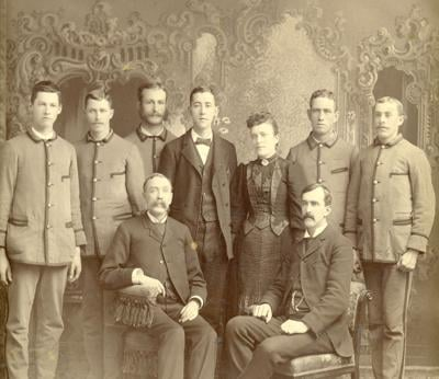 Keene Post Office staff