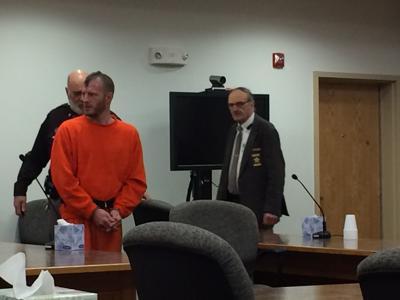 At his arraignment