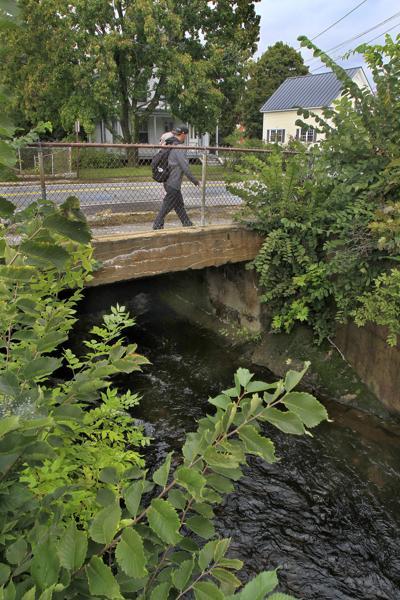 The Roxbury Street Bridge